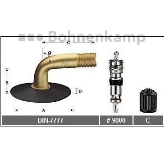 TB 220x50 DIN 7777 90/90